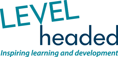 LEVELheaded logo - Inspiring learning and development